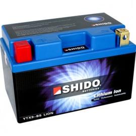 Accu 12volt Shido lithium ion YTX9L-BS 121440