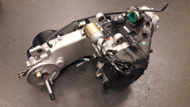 Motorblok compleet gy6 125cc 10inch lange as 954