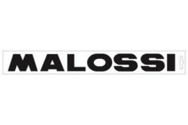 Malossi  sticker woord 34cm zwart malossi 3312649