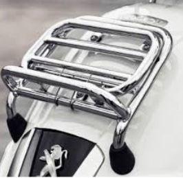 Bagagedrager Peugeot Django chrome origineel a09004xk
