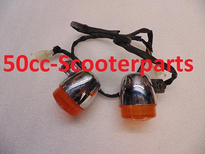 Knipperlicht set voor Agm Bella Fosti retro 50qt-e-020802 gebruikt
