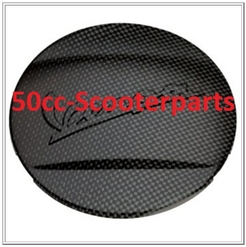 Kickstarterdeksel Cover Carbon Look Vespa Gts (super) origineel 605465M002