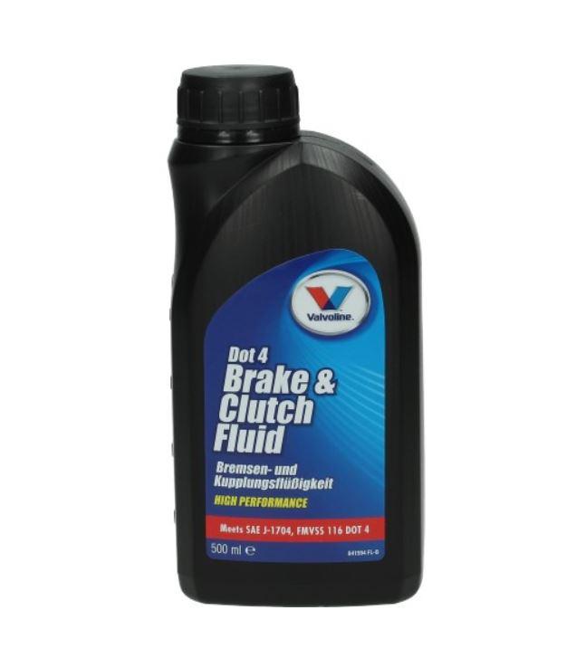Remvloeistof 500mL fles valvoline olie dot 4 91597