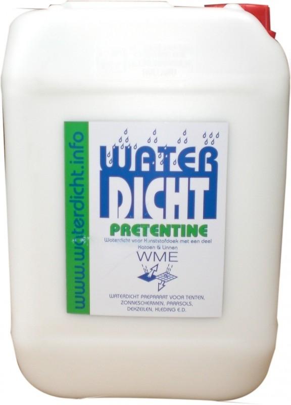 Waterdicht/Waterafstotend zonnewering, Pretentine 10 liter