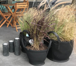 Stoere plantenmand XL 45 cm