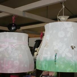 hanglamp dres dipdyed green SALE