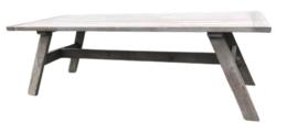 Eettafel soft grey