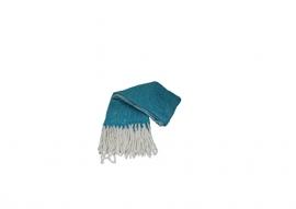 plaid wol turquoise