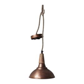 hanglamp koper hout