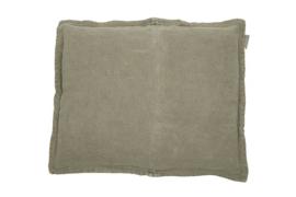 Kussen Linnen Anna olive grey 50x40 cm