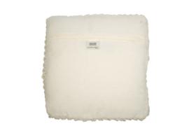 Kussen Bordeaux off-white 45x45 cm