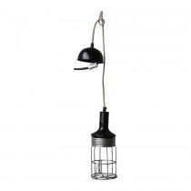stoere vintage loophanglamp