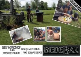 Inspirerende Workshop Buitenkoken & BBQ 17 Oktober 2020