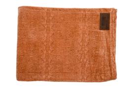 Plaid Rafaella velvet Nude 130x170 cm