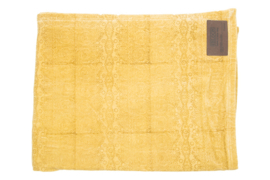 Plaid Rafaella velvet oker 130x170