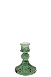 Kandelaar Glas Dijon S dark green