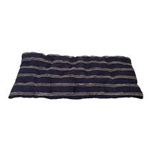 Matraskussen donkerblauw jute 180x70 cm