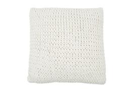 Kussen Knitted Colmar  naturel 50x50 cm