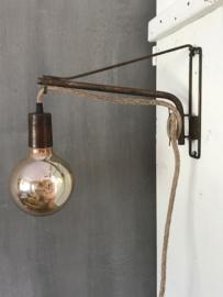 wandlamp industrieel uitverkocht