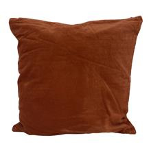 Kussen fluweel 50x50 burnt orange