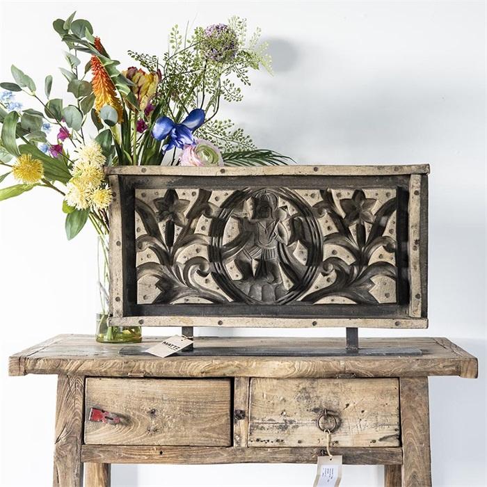 Decoratie houten paneel uniek exemplaar
