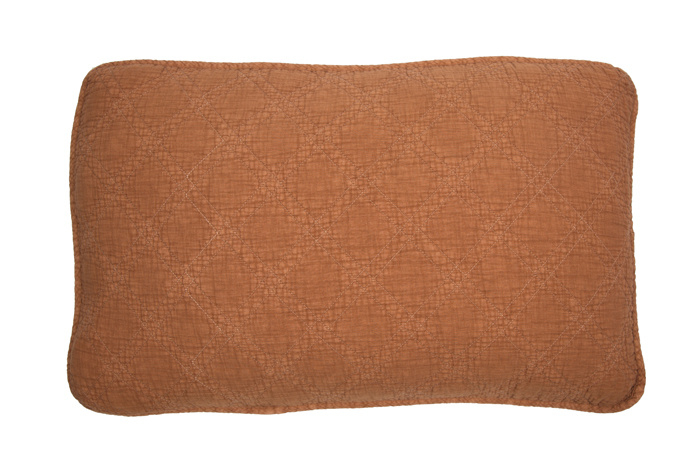 Quilted kussen 40x60 nude