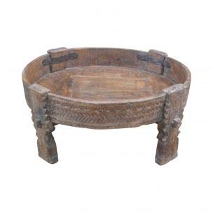 grinder salontafel hout