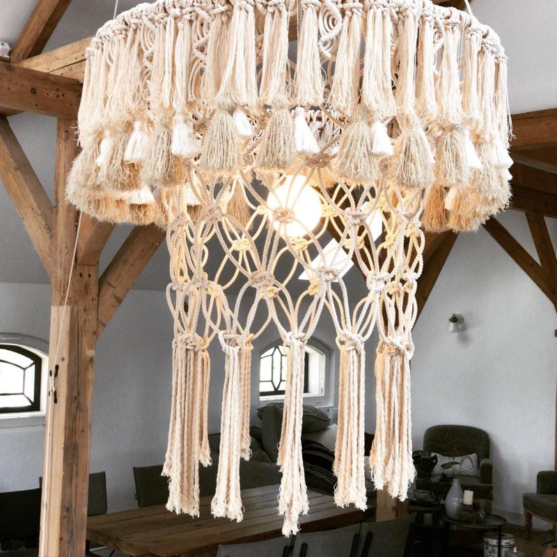 Hanglamp XXL Macrame