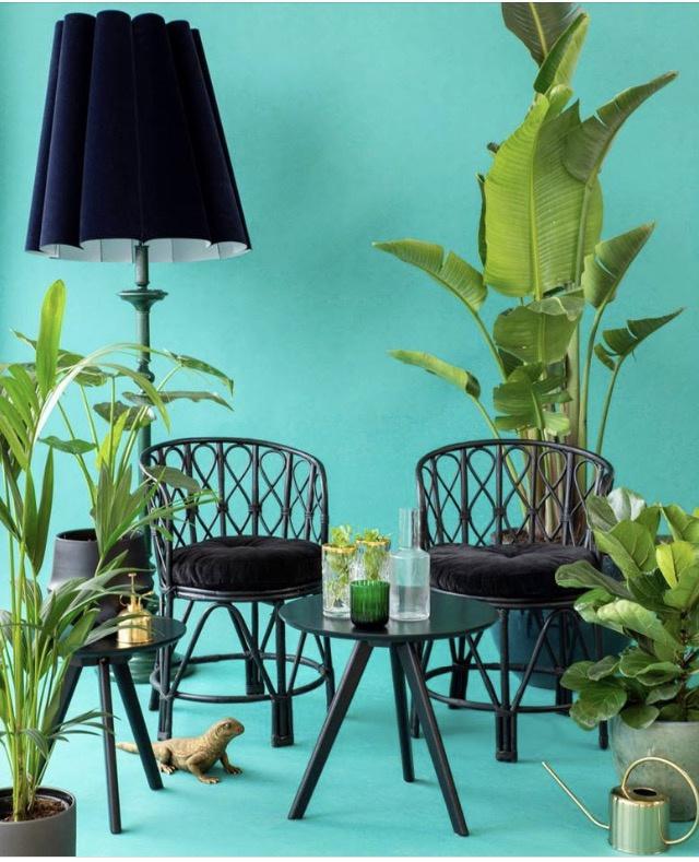 Fluwel blue vintage large