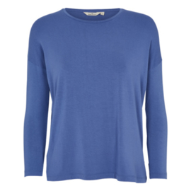 Dames LS T-Shirt    Joline - Blue Horizon   Basic Apparel