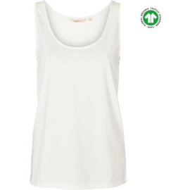 Dames Tanktop  |  Rikke - Wit | Basic Apparel