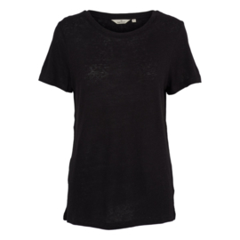 Dames T-Shirt     Kali- Black   Basic Apparel