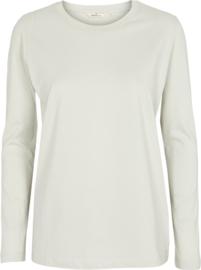 Dames LS T-Shirt    Rikke - Oyster Grey   Basic Apparel