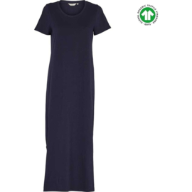 Dames  Dress | Rebekka - Navy | Basic Apparel