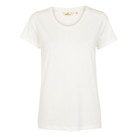 Dames T-Shirt  |  Rebekka - White | Basic Apparel