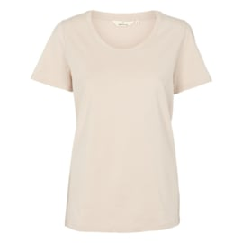 Dames T-Shirt  |  Rebekka - Sand | Basic Apparel