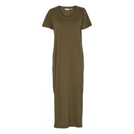 Dames  Dress   Rebekka - Army   Basic Apparel