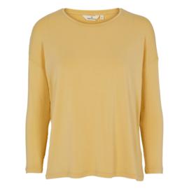 Dames LS T-Shirt    Joline - Straw   Basic Apparel