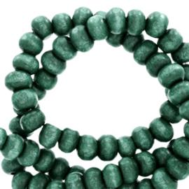 Houten kralen 8mm rond Bistro green 50 st 68755