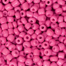 Rocailles, 3mm 8/0, Cerise Pink, 10 gram 68298