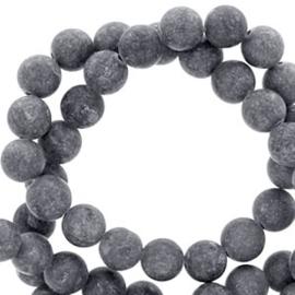 8 mm kralen natuursteen rond mountain jade grey 10st 62596