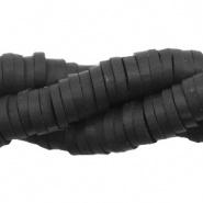 Katsuki Kralen 6 mm Zwart (5 gram, ca. 100 stuks)
