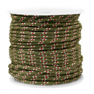 Maritiem koord Army Green 2 mm per meter