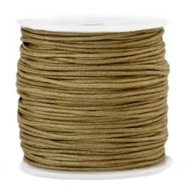 Macramé draad 1.5mm Incense brown 1  meter 67421