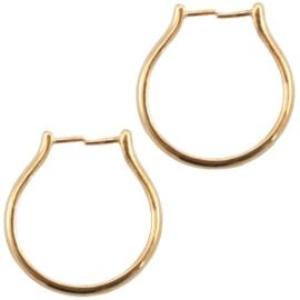 DQ metalen ring (voor kraal) Goud (nikkelvrij)