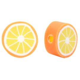 Polymeer Kraal Sinaasappel Oranje  62747