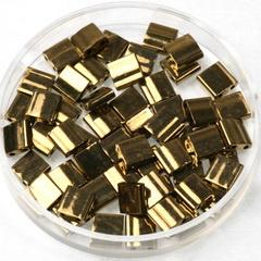 Miyuki tila 5x5 mm - metallic dark bronze 457 3 gram