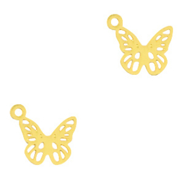Bohemian Hanger Vlinder Gold 71244 per stuk