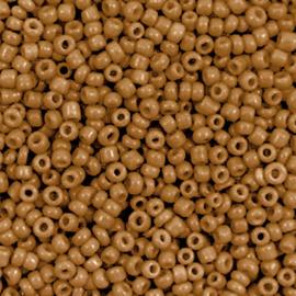 Rocailles 12/0 (2mm) Sierra brown, 10 gram 72393
