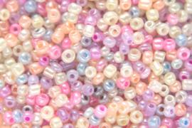 Rocailles Mix pastel 4mm 10 gram
